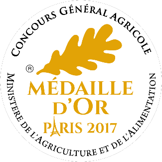 médaille d'or paris 2017